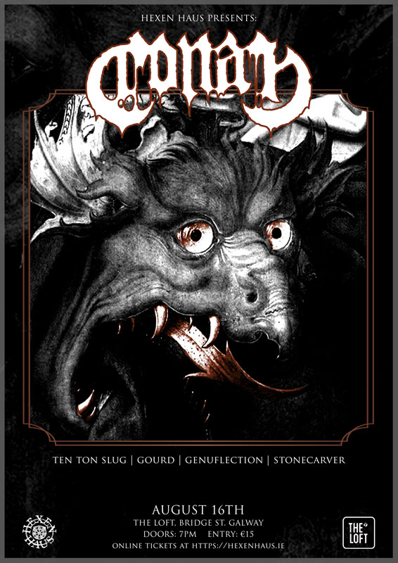 Conan in Galway presented by Hexen Haus