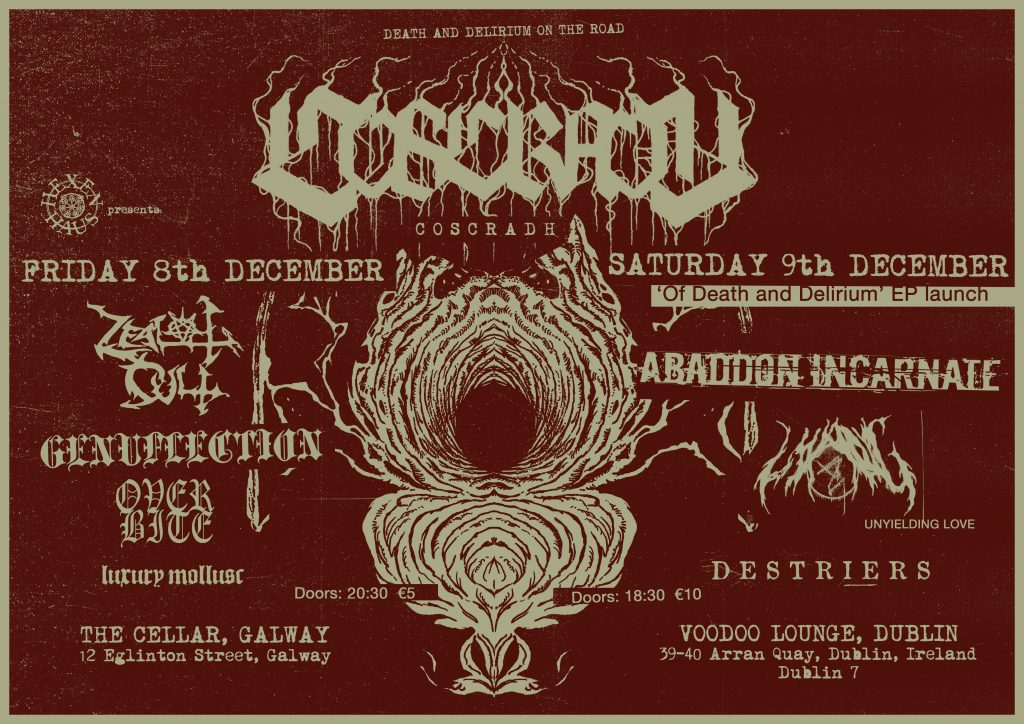 Coscradh EP launch presented by Hexen Haus