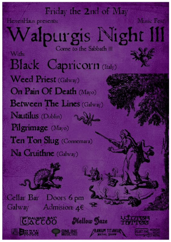 Walpurgis Night Festival Galway III presented by Hexen Haus