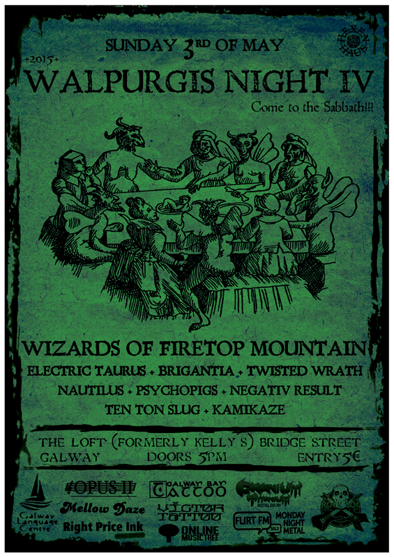 Walpurgis Night Festival Galway IV presented by Hexen Haus